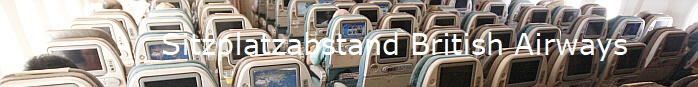 Sitzplatzabstand British Airways