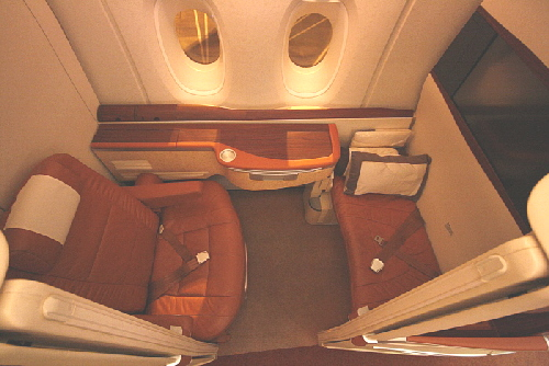 Singapore Airlines A 380 - Suites