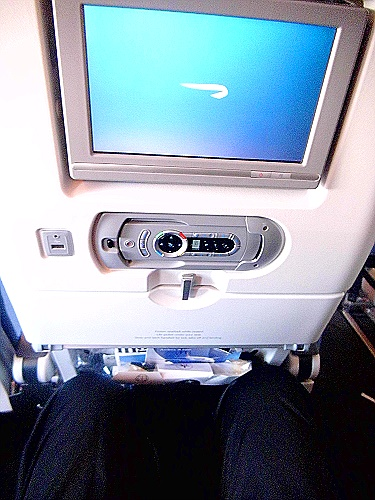 British Airways A380 - economy Sitz 25 D