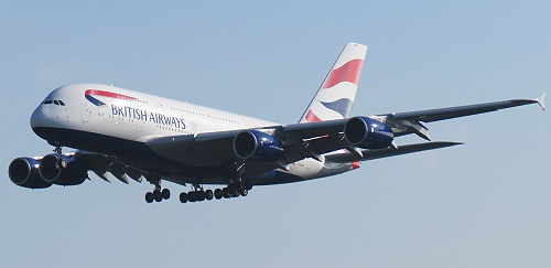 British Airways A 380