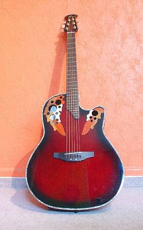 Ovation Pinnacle Deluxe CU-247 RBB
