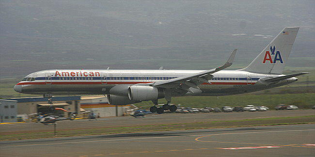 American Airlines B 757