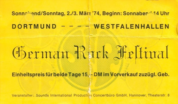 German Rock Festival 1974