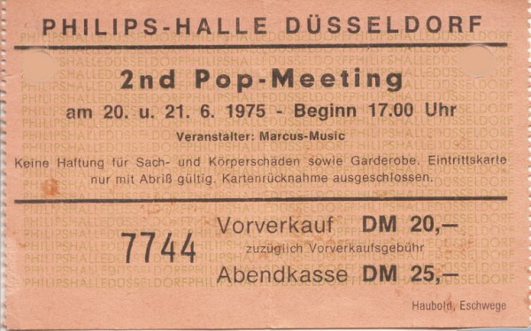 2nd Pop Meeting