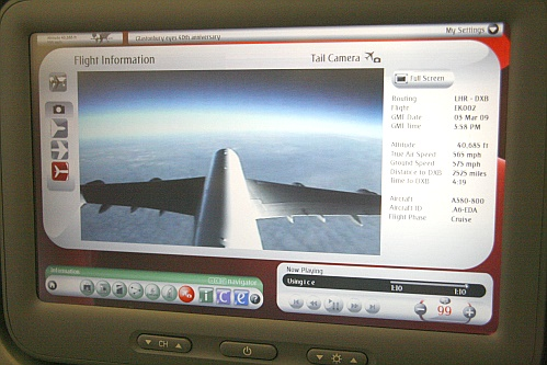 Tail Camera - Emirates A 380