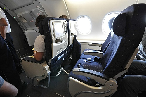 Air France A 380 Economy Seat