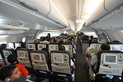 Air France A 380 Upper Deck