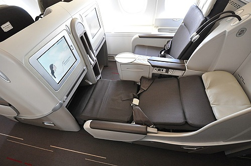 Air France A 380 Business Class Sitz