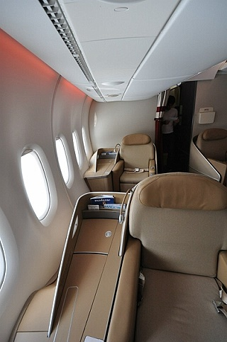 Air France A 380 Premiere - First Class