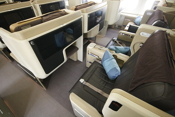Singapore Airlines A 380 - Business Class