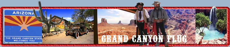 Grand Canyon Flug
